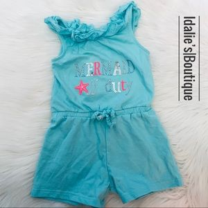 3T girl summer romper